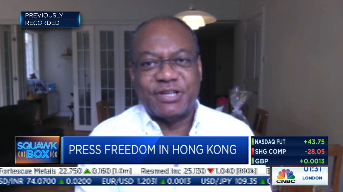 CNBC – 'Death by a thousand cuts,' journalism professor says of press freedom in Hong Kong